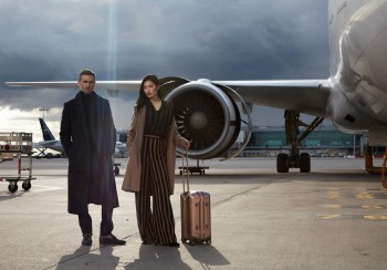 editorial fashion luxury airport Paris homme femme