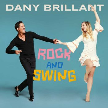 Photo portrait artiste chanteur français Dany Brillant et danseuse Rock & Swing hit music