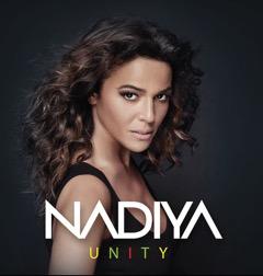 Photo portrait artiste chanteuse française Nadiya Unity hit music